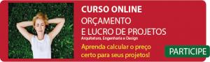 curso de orçamento de projetos de arquitetura online, curso de orçamento de projetos de engenharia online, curso de orçamento de projetos de design de interiores online,