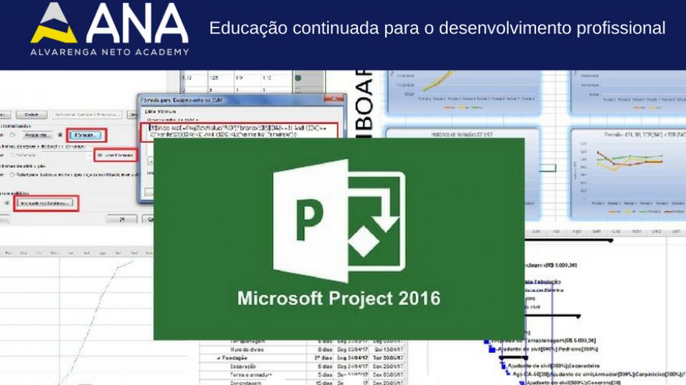Curso de MS Project no gerenciamento de projetos