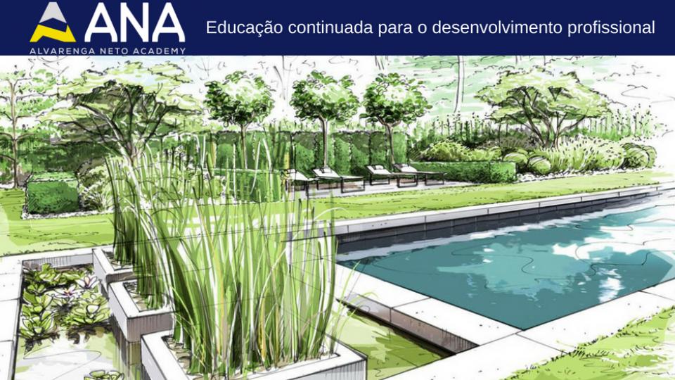 Desenho Arquitetonico Paisagismo